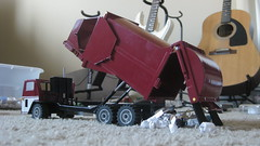 1:34 Scale EZ-Pack HCSL Garbage Truck (Thrash 'N' Trash Prodcutions) Tags: scale trash truck garbage model hand side first gear replica manual refuse custom loader built detailed 134 diecast msl ezpack hcsl