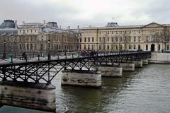 Pont des Arts, París (laap mx) Tags: bridge mars paris france puente march europa europe amelie 2008 francia marzo movielocation