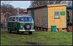 VW Camper Van (chris rs197) Tags: volkswagen campervan bluebellrailway m43 tonemap mirrorless microfourthirds mzuiko olympus45mmf18
