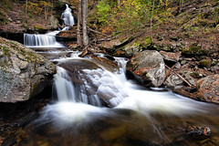 Waterfall Wednesday (Marvin Foran Photography) Tags: longexposure travel vacation fallleaves fall flow landscapes waterfall pennsylvania falls rickettsglen canon5dmarkii marvinforanphotography
