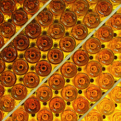 Sweet bottles (jmvnoos in Paris) Tags: abstract france yellow jaune circle square gold golden bottle nikon bottles circles diagonal explore vin vins cercle bouteille wines diagonale bouteilles dor aquitaine cercles monbazillac seeninexplore anawesomeshot d700 jmvnoos