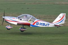 G-XBJT - 2002 build Aerotechnik EV-97 Eurostar, Barton based (egcc) Tags: manchester 912 eurostar barton microlight rotax pfa cityairport ev97 aerotechnik egcb gxbjt 31513967