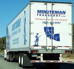 Minuteman Transport Inc Truck (Photo Nut 2011) Tags: california truck freeway minutemantransportinc