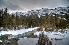 Banff National Park (ChrisFitzPhotography) Tags: mountains tree clouds river banff ultrawideangle chrisfitzphotography 10mm24mm35g