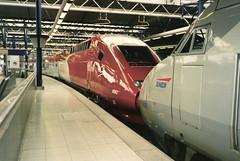 SNCF Thalys PBKA set no. 4343, Brussel-Zuid (bindonlane) Tags: tgv sncf thalys brusselzuid bruxellesmidi thalyspbka
