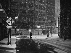 ahead (.insomniac) Tags: street winter snow ahead detroit