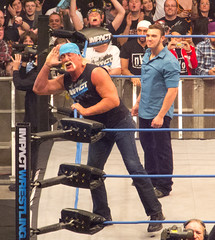 TNA Impact Wrestling TV taping - 2012 (simononly) Tags: uk england london tv action live wrestling sting arena impact hulkhogan gunner taping challenge wembley bishoff tna totalnonstopaction