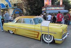 Gene Winfield's 1953 mercury 2-door hardtop (bballchico) Tags: hardtop mercury 1953 2door gonebananas genewinfield wheelsunlimited grandnationalroadstershow2012 photobballchico2012 jaebuenotribute