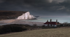 Seven Sisters waiting on the Snow (JamboEastbourne) Tags: haven sisters sussex seven cuckmere