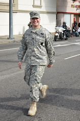 U.S. ARMY CAPTAIN (Navymailman) Tags: la los angeles jr parade l mlk