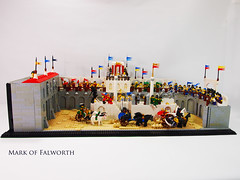 The 37th annual Chariot Race of Sybarine View 1 (Mark of Falworth) Tags: race greek lego roman chariot hippodrome