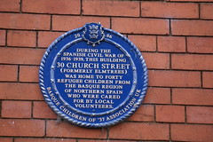 Photo of 30 Church Street blue plaque