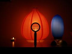 Day 6 - Game of Light (holysock) Tags: blue candle olympus e500 lightorange