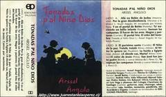 Arssel Angulo (Santiago), tomó 2 melodías de cuecas tradicionales recopiladas por mi y les creó texto relacionado con el título de su trabajo.