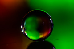 Orb (daydreamCry) Tags: macro colorful orb sphere round