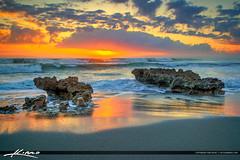 Coral Cove Beach Sunrise Beauitful Clouds