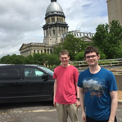 "AJ and Chase at the State Capitol • <a style=""font-size:0.8em;"" href=""http://www.flickr.com/photos/109120354@N07/26513197394/"" target=""_blank"">View on Flickr</a>"