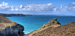 From Chapel Porth to St Ives (Baz Richardson) Tags: coast cornwall seascapes cliffs stives chapelporth rafportreath northcornishcoast