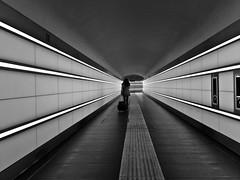 (Maurizio Targhetta) Tags: city people blackandwhite bw cityscape citylife streetphotography tunnel urbanlandscape