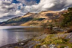 Ben Lomond (Neillwphoto) Tags: mountain clouds side hill bank shore loch benlomond lochlomond steep rowardennan
