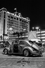 Black and White Monday #20 (Eric Arnold Photography) Tags: vegas blackandwhite bw white black vw bug volkswagen lasvegas nevada nv 2015 wuste blackandwhitemonday palacaestation