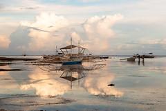 Bangka sunset (adammlewis) Tags: sunset reflection boats seaside fishing nikon philippines tamron bangka thephilippines nikond3200 tamron1750mm tamronspaf1750mm