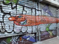 Speeding By (failing_angel) Tags: usa newyork graffiti manhattan ussa 300515