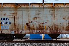 (o texano) Tags: bench graffiti texas houston trains freights jerms a2m benching adikts
