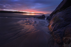 Glowy stuff (Justin Smith - Photography) Tags: ocean beach sunrise manchester ma massachusetts singingbeach justinsmith nikon1735mmf28 nikond800 wwwjustinsmithphotocom