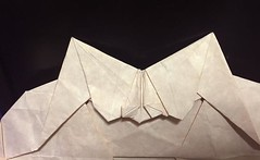 Back (o'sorigami) Tags: art paper origami complex tessellation paperfolding folding
