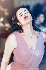 Gooood.... That Lips!.... Hmmmmm! (Alexandru Matei) Tags: red portrait people eye girl lips romania wink fata rou zarnesti rosii buze mapbv 40773835344