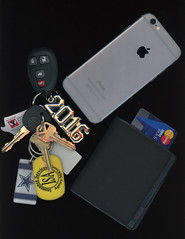 Scanography (JesseArredondo) Tags: keys wallet scanography iphone6