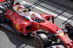F1 Testing Spain 2016 (Adrian Brittlebank) Tags: barcelona canon 1 spain mark f1 ferrari testing formula 5d catalunya antonio circuit fuoco motorsport 2016 redring