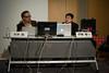 Jun Murai and Joi Ito at ORF 2011 (Nokton) Tags: japan summilux joiito keiouniversity tokyomidtown safecat junmurai leicam9 orf2011 scanningtheearth elmarit90mmleicam9