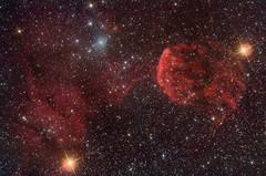 IC443 - IC444 (Skiwalker79) Tags: stars astrophotography cielo astrofotografia astronomy astronomia notte stelle ic443 jellyfishnebula Astrometrydotnet:status=solved nebulosamedusa Astrometrydotnet:version=14400 takahashifsq106 ic444 canon40dcentralds Astrometrydotnet:id=alpha20111185181825