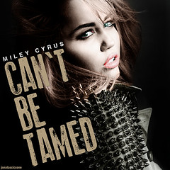 Miley Cyrus - Can't Be Tamed (Jonatas Ciccone) Tags: music art digital heart who album pop cant cover be cyrus tamed owns miley ciccone jonatas my