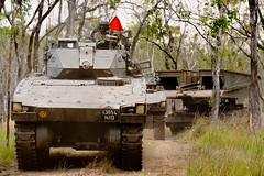 Exercise Wallaby 2011 (cyberpioneer) Tags: australia saf mindef ministryofdefence 2011 singaporearmedforces leopardtank bionix singaporearmy exwallaby cyberpioneer exercisewallaby cyberpioneertv bionixllifv l2avl exwallaby2011