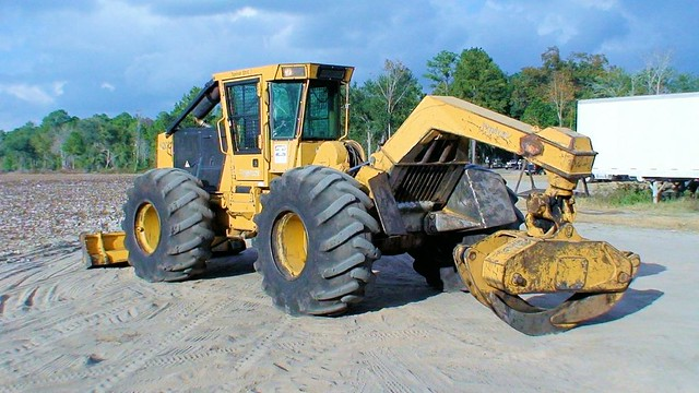2007 Tigercat 620C Skidder for Sale at Forestry First 004