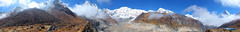 ABC Panorama (ABC-D5) (Poorfish) Tags: nepal panorama peak abc annapurna dakshin fishtail   annapurnabasecamp machhapuchhare annapurnasouth gangapurna annapurnaiii annapurnai hiunchuli annapurnaconservationarea singuchuli