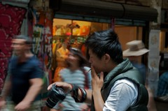 Photographer in Centre Place (ultrakml) Tags: nikon photographer australia melbourne victoria centreplace d7000 afsdxvrzoomnikkor18200mmf3556gifedii