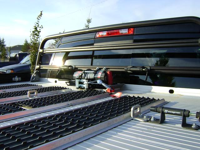 light truck marathon pickup deck dodge accessories ram winch 2012 3500 warn