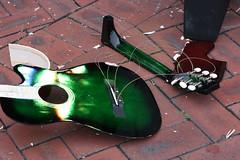 Smashed Guitars