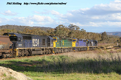 2 November 2011 8258 C504 C509 8234 Ben Bullen 2 (RailWA) Tags: ben nsw bullen c509 8234 8258 railwa c504 philmelling
