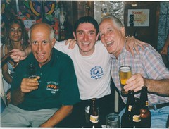 John Pickston, Brian Running and Ron (Ronnie Biggs The Album) Tags: ronnie biggs greattrainrobbery oddmanout ronniebiggs ronaldbiggs