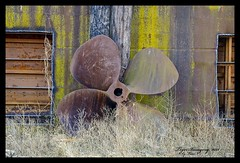 Barge Propeller (Tiger Imagery) Tags: propeller barge quincyil westquincymo