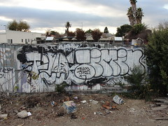 TELOS / TIMID (Same $hit Different Day) Tags: graffiti bay south telos timid