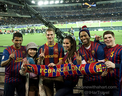 FC Barcelona FIFA Club World Cup 2011 (I Hart Travel) Tags: travel sports japan photography football fifa soccer yokohama kanagawa fcbarcelona laliga nissanstadium lionelmessi davidvilla fifaclubworldcup2011 fifaclubworldcupjapan2011