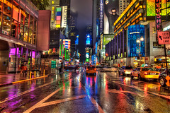 Times Square Is Crazy!!! (Sprengben [why not get a friend]) Tags: world china city roof winter summer sky music newyork paris reflection art japan clouds skyscraper garden subway observation lights amazing nikon traffic bright artistic time metro taxi gorgeous awesome hamburg broadway illumination police style screen symmetry divine international stanley stunning batman hershey metropolis blade morgan charming foreign sheraton fabulous hdr linear englandlondon advertise gothamcity missliberty parkcentralhotel engaging travelphotography d90 photomatix inglot travellight d3s sprengbenurban timessquare7thavenue