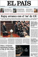 El Pais (Jean Paul Lionheart) Tags: rajoy investidura