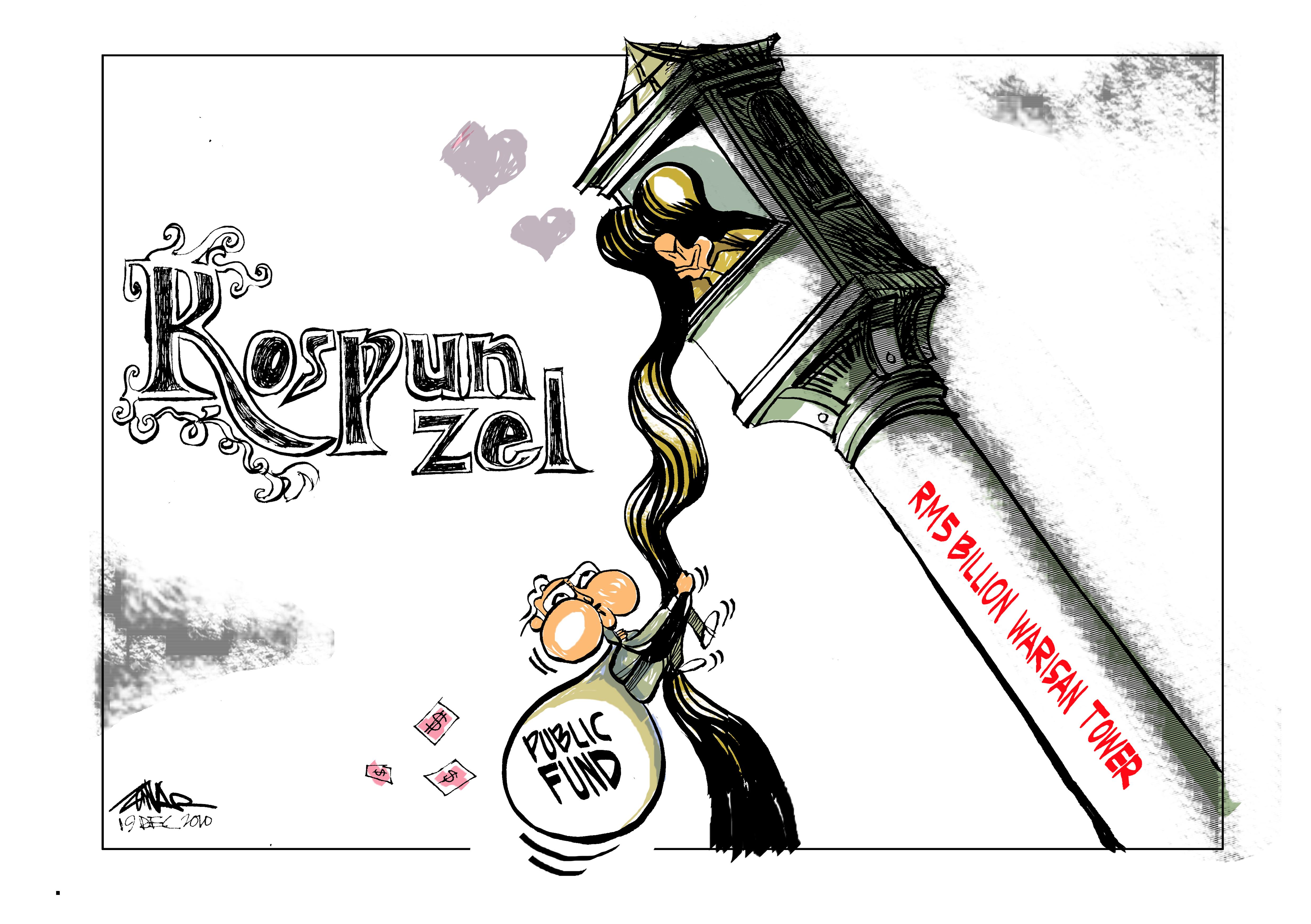 Caricaturas, Zunar, BilbaoArte 2011.